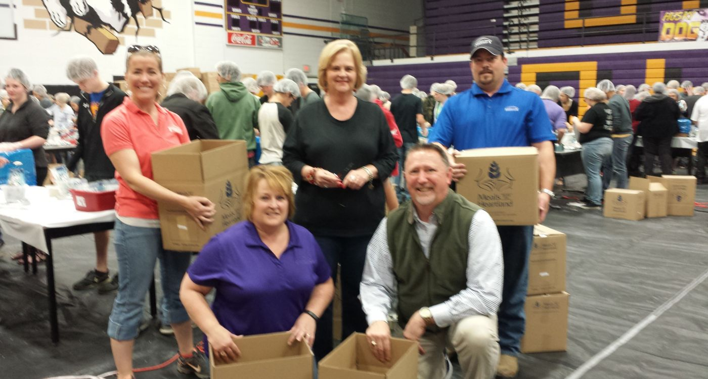 Meals from the Heartland with Fidelity Bank & Trust team